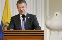Santos Wins Nobel Peace Prize