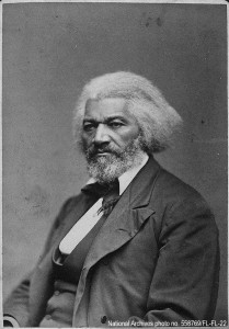 Frederick Douglass. National Archives photo