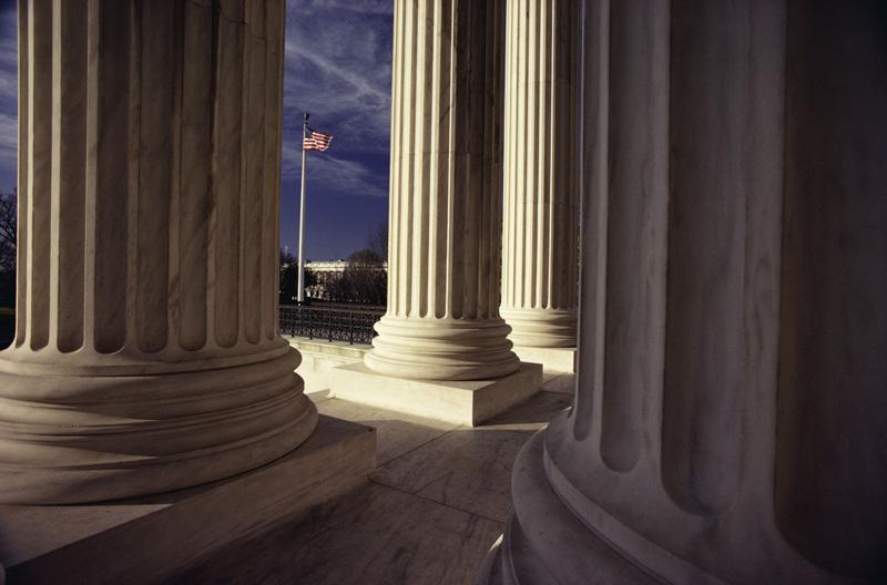 Columns of Supreme Court, Washington, D.C.