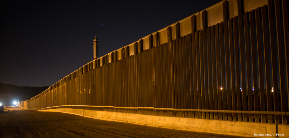 A portion of the new steel border fence stretches along the US-Mexico border in Sunland Park, New Mexico, Thursday, March 30, 2017. This fencing just west of the New Mexico state line was planned and started before President Donald Trump's election, adding to the 650 miles of fences, walls and vehicle barriers that already exist along the nearly 2,000-mile frontier.