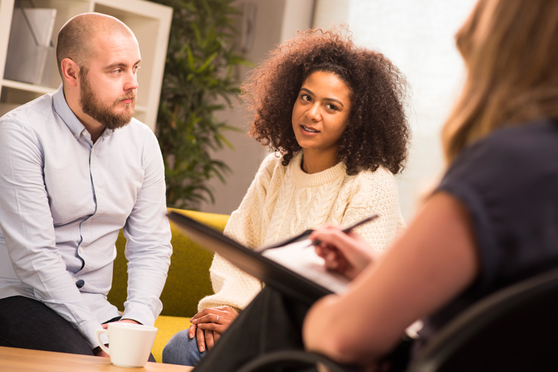 Industrial psychologists help address workplace problems.