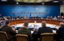 President Trump Meets with NATO Leaders